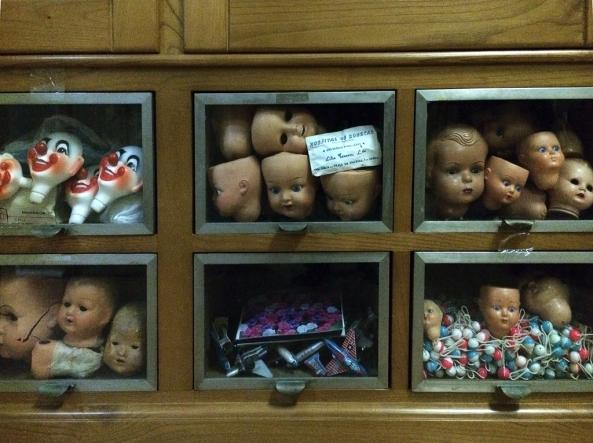 Puppenkoepfe