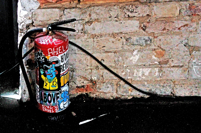 Graffiti Sprühgerät